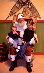 Santa in Minneapolis, Marshall Fields
